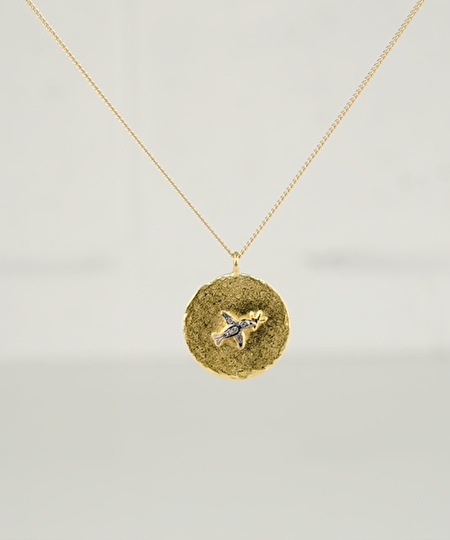 Arnold Diamonds Gun Necklace