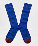 Matisse Blue Polka Dot Socks