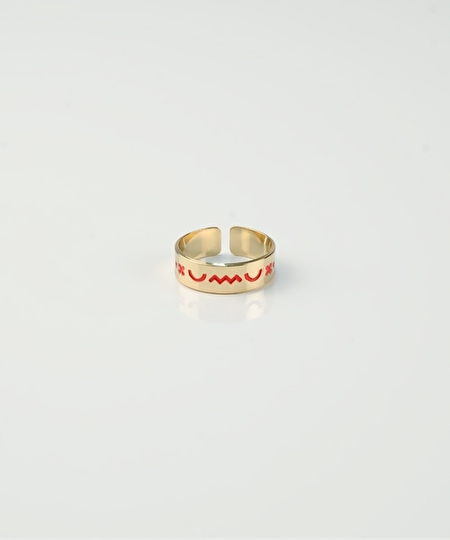Emoji Ring - Coral