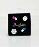 Stupéfiant Set Embroidered Pins