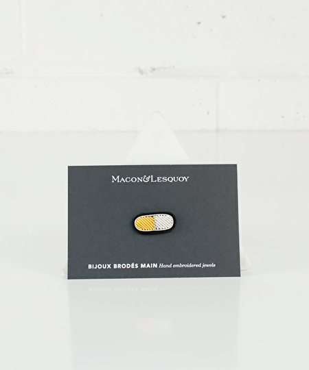 Pill Embroidered Pin