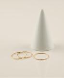 Trio Gold Ring