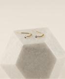2MM Crystal Earrings