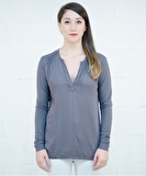 Molly Top - Dusky Grey