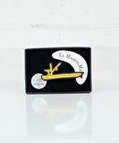 Barge Embroidered Pin