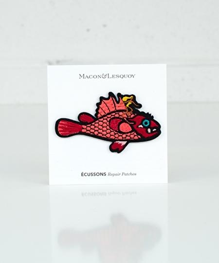 Scorpion Fish Iron Patch