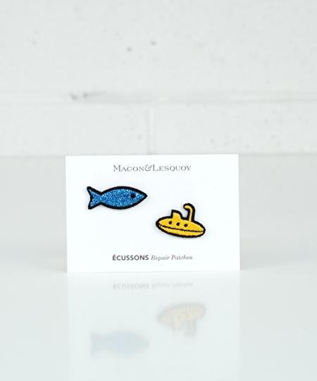 Fish & Submarine Iron Patches
