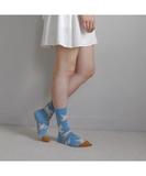 Azure Dove Socks