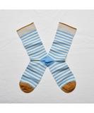 Azure Stripe Socks