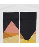 Multicolore Geometric Socks