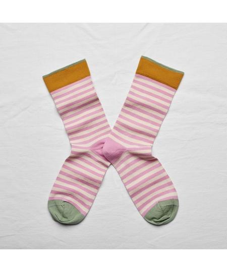Peony Stripe Socks