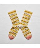 Mimosa Checks Socks
