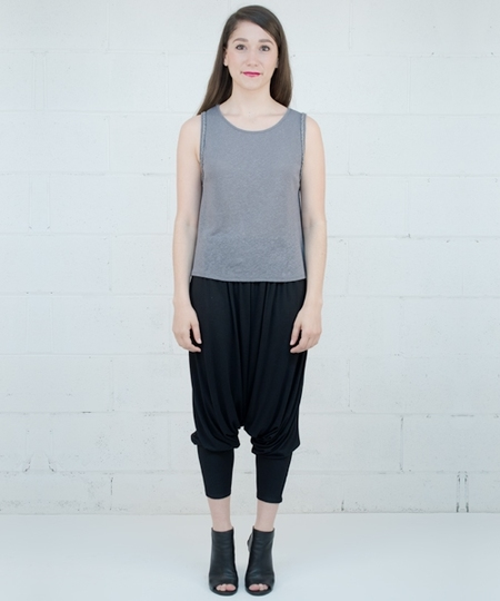 Charmy Sarouel Pants - Black