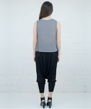 Charm Sarouel Pants - Noir