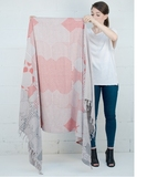 Miroir Beach Towel - Corail
