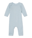 Delta Wool & Cotton Coverall - Blue Stars