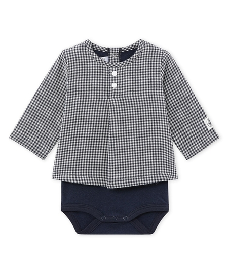 Lainage Gingham Bodysuit