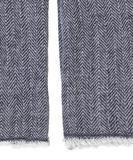 Hawkins Wool Scarf - Medieval Blue