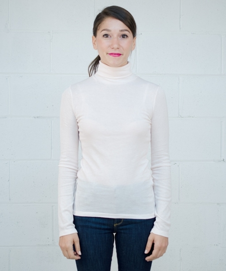 Delou Soft Turtleneck - Light Pink