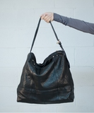 Redaction Handbag - Wash Noir