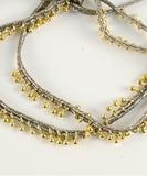 Pampille Bracelet or Necklace - Gold Celadon
