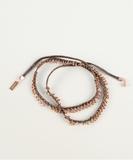 Pampille Bracelet or Necklace - Rose Gold