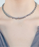 Lustre Bracelet or Necklace - Grey