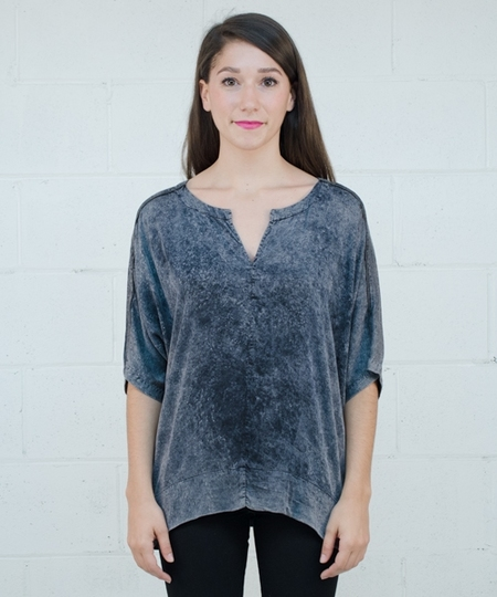Vigge Blouse - Hand Dyed