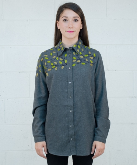 Cathy Embroidered Shirt