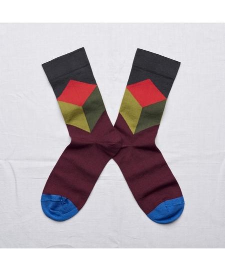 Dark Cube Socks