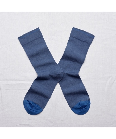 Plain Denim Socks