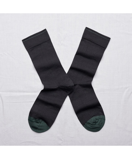 Dark Plain Socks