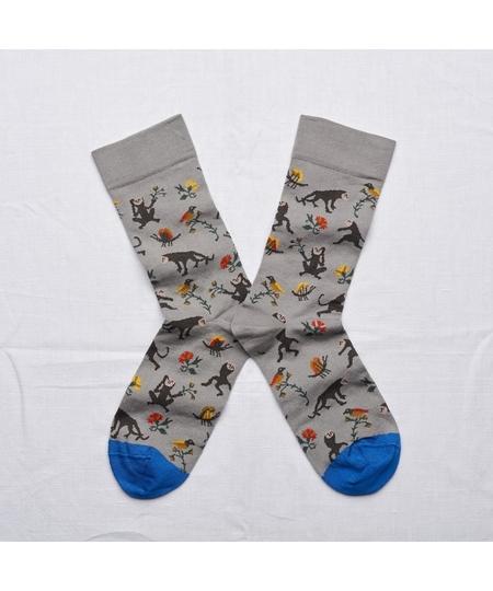 Elephant Monkey Socks
