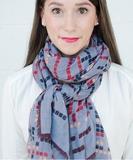 Elodie Scarf - Grey