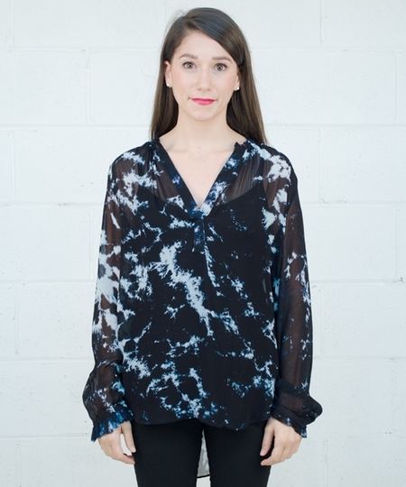 Glory Blouse - Midnight Dye