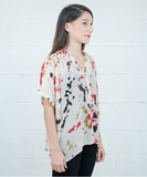 Gail Blouse - Red Dye
