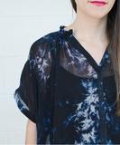 Gail Blouse - Midnight Dye