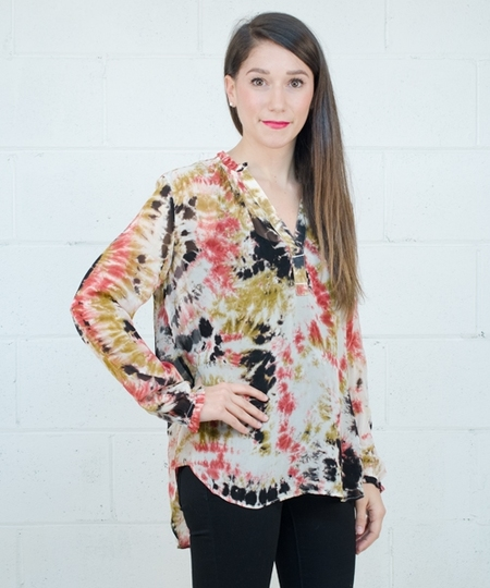 Glory Blouse - Red Dye
