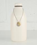 Jaco Pyrite Long Necklace