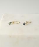 Eren Green & Blue Sapphires Earrings