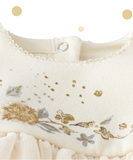 Lentillo Embroidered Dress