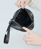 Maha Pouch or Clutch - Black