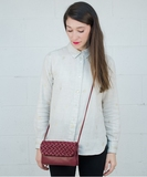 Lila Purse - Burgundy
