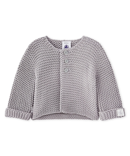 Made Knit Cardigan - Grey