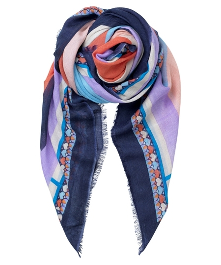 Asak Blue Nights Scarf