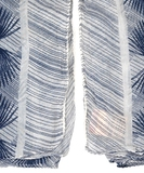Alum Cotton Scarf - Blue Nights