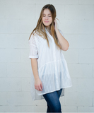 Tender Tunic or Dress - White
