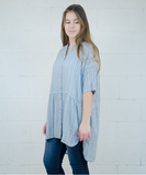 Tender Tunic or Dress - Indigo