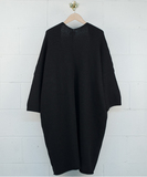 Kimono Overcoat - Noir