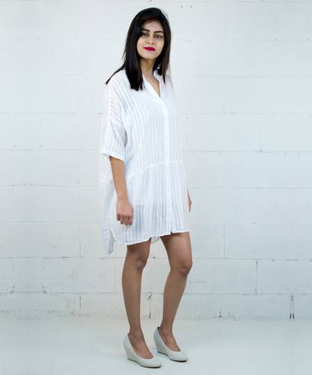 Tender Tunic / Dress - White
